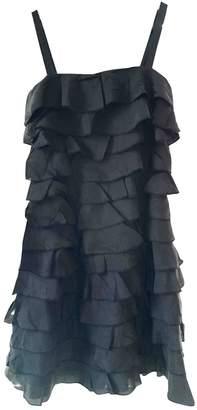 Peter Jensen Black Silk Dress for Women