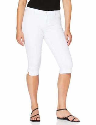 Vero Moda Women's VMHOT Seven NW DNM Slit Knicker Color Jeans