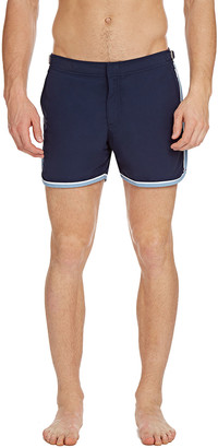 Orlebar Brown Men's Setter Binding Side-Stripe Shorts