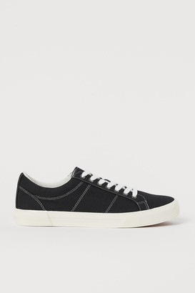 H&M Canvas trainers - Black