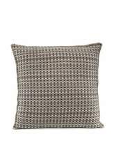 Agnona Cashmere Basketweave Pillow