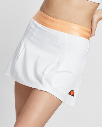 Ellesse Women's White Skorts - Cali Tennis Skort - Size 10 at The Iconic