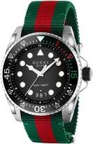 Gucci Dive Nylon Strap Watch, 45mm