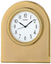 Seiko Rounded Goldtone Mantle Clock