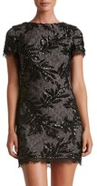 Dress the Population Women's Valerie Sequin Lace Sheath Dress