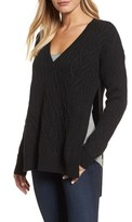 Kenneth Cole New York Women's Irregular Cable Knit Sweater