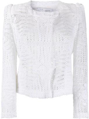 IRO Crochet Knit Cardigan