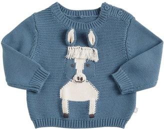 Stella McCartney Kids Cotton & Wool Knit Sweater