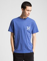 HUF Royal Heather Classic H Pocket T-Shirt