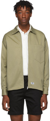 Dickies Construct Taupe Zip Front Jacket