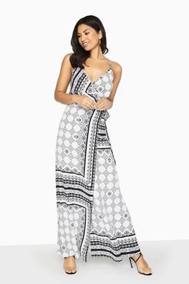 Girls On Film Outlet Marcos Boho Print Cami Maxi Dress