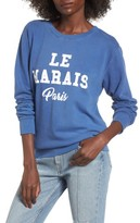 Daydreamer Women's Le Marais Paris Graphic Sweatshirt