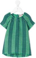 Bobo Choses striped dress - kids - Linen/Flax/Viscose - 3-6 mth