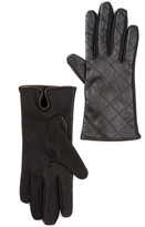 GUESS Touchpoint Quilted Leather Smart Gloves