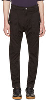 Helmut Lang Black Utility Trousers