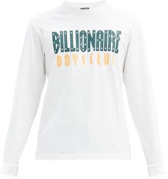 Billionaire Boys Club Logo-print Cotton-jersey T-shirt - White