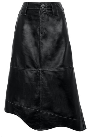 Thumbnail for your product : Ganni Leather skirt
