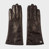 Paul Smith Women's Black Lamb Leather Gloves