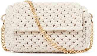 Forever New Camille Crochet Crossbody Bag - Natural - 00