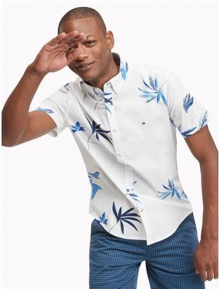 Tommy Hilfiger Slim Fit Essential Leaf Print Shirt