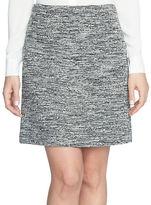 CeCe Stretch Tweed Mini Skirt