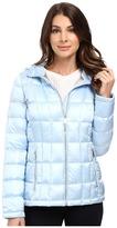 Calvin Klein Short Hooded Lightweight Packable Down Women's Coat