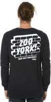 Zoo York Whitestone Ls Mens Tee Black