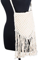 Condura NEW Zara Natural Macrame Cross Body Bag
