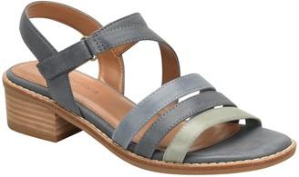 Comfortiva Mixed Leather Heeled Sandals - Ballina