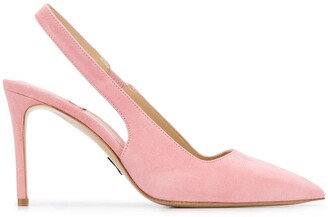 Paul Andrew slingback ankle strap pumps