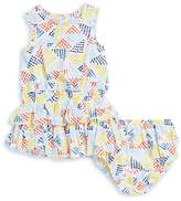 Splendid Tiered Dress & Bloomer-Set