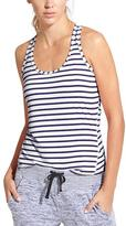 Athleta Stripe Chi Tank