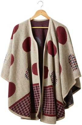 Tickled Pink Cynthia Wool Cape