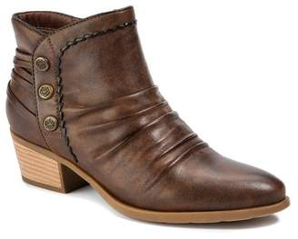 Bare Traps BareTraps Bethany Ruched Ankle Bootie