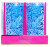 Lilly Pulitzer Blue Tang Gang Highball Glasses/Set of 2