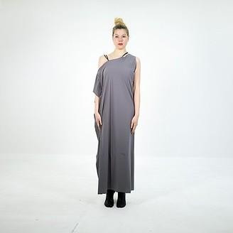 Clotilde - One Shoulder Dress - taglia unica | grey - Grey/Grey