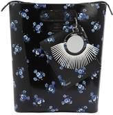 Kenzo Large May Flowers Brushed Leather Bag