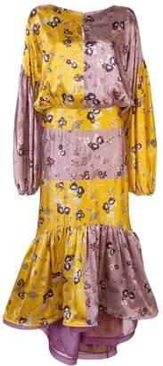 Silvia Tcherassi paneled color-block dress