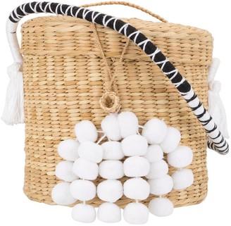Nannacay thread strap Anna bucket bag