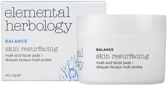 Elemental Herbology Skin Resurfacing Multi-Acid Facial Pads
