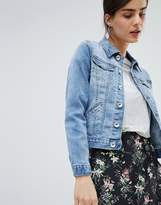 Oasis Pocket Detail Denim Jacket