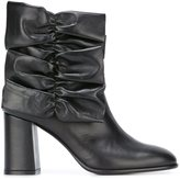 MSGM gathered detail boots