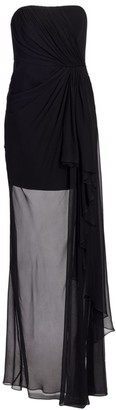 Cinq à Sept Yuki Strapless Gown