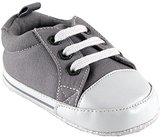 Luvable Friends Basic Solid Color Canvas Sneaker (Infant)