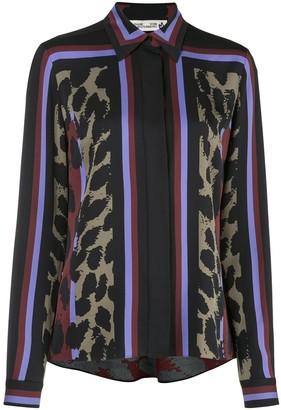 Dvf Diane Von Furstenberg Mai printed silk blouse