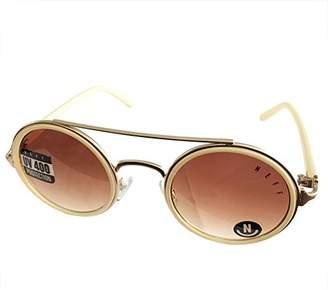Neff Unisex-Adult Leon Shades Round Sunglasses