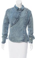 Vivienne Westwood Long Sleeve Chambray Top