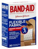 Johnson & Johnson 30-Count Band-Aid® Assorted Flex Fabric Bandages