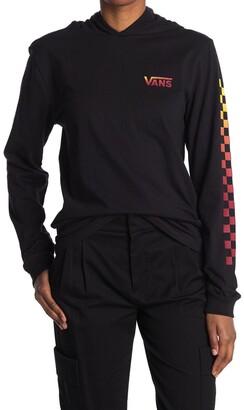 Vans Van Doren Hooded Long Sleeve T-Shirt