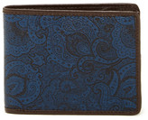 Robert Graham Paisley Bifold Leather Wallet